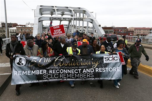About 100 Set Out to Retrace Selma-to-Montgomery March