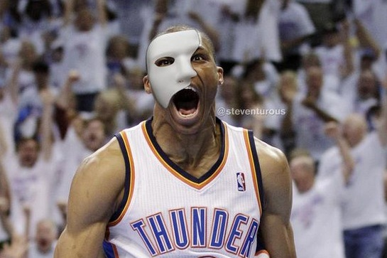 Internet Reacts to News That Russell Westbrook Will Wear a Mask
