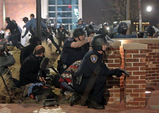 2 Officers Shot in 'Ambush' Outside Ferguson PD