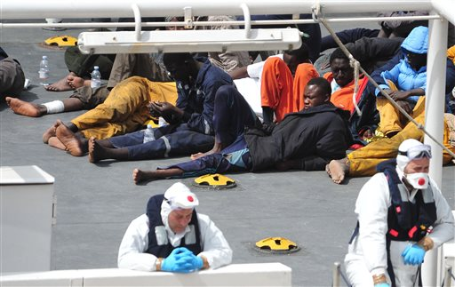 Libya's Coast Guard Detains Almost 600 African Migrants