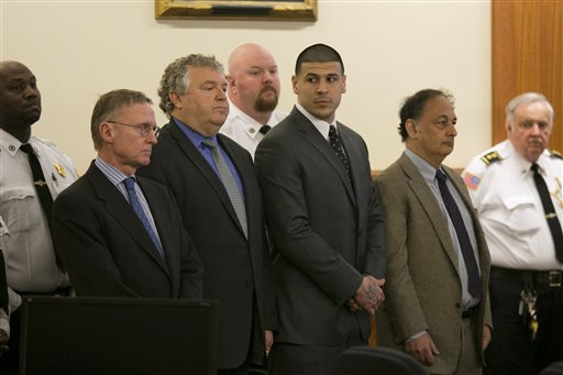 After Conviction, Many Court Cases Left for Aaron Hernandez