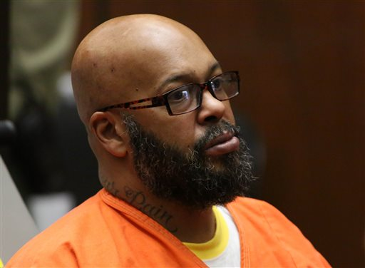 Suge Knight Chained to a Wheelchair in Latest Court Appearance