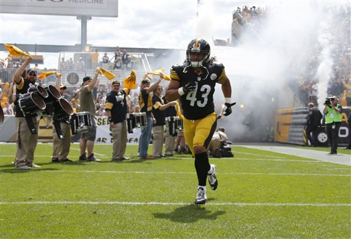 Steelers Safety Troy Polamalu Retires