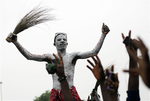 Nigeria Celebrates Buhari's Stunning Win; Challenges Loom