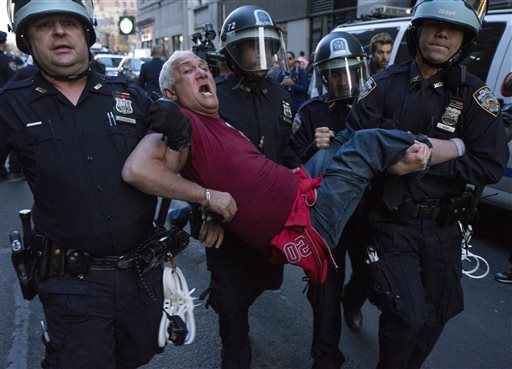 Freddie Gray Protests Spread Beyond Baltimore, 100 Arrested in New York