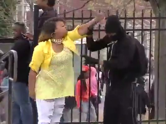 Baltimore Mom Who Slapped Son: He Was Embarrassing Himself