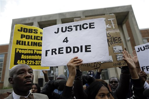 Hype Surrounds Hearing as Freddie Gray Case Heads to Court