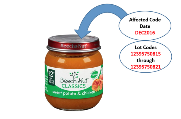 Baby Food Recalled Over Glass Pieces in Jars
