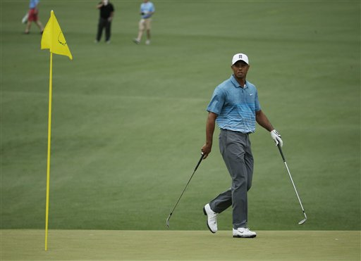 Tiger Arrives, and the Guessing Game Begins at Masters