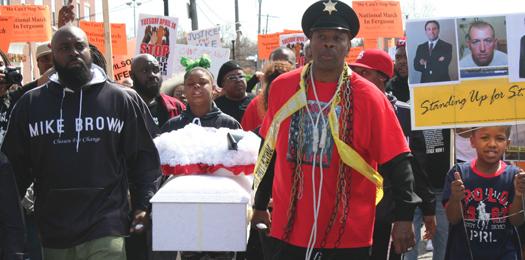Protestors Condemn White Minority Rule, Modern Apartheid in the St. Louis Area
