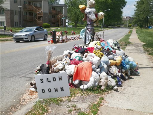 Ferguson Mulls Removing Brown Shrine from Middle of Street