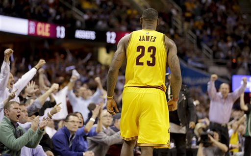 LeBron James Says He's 'Probably the Best I've Been' Heading to 2015 NBA Finals