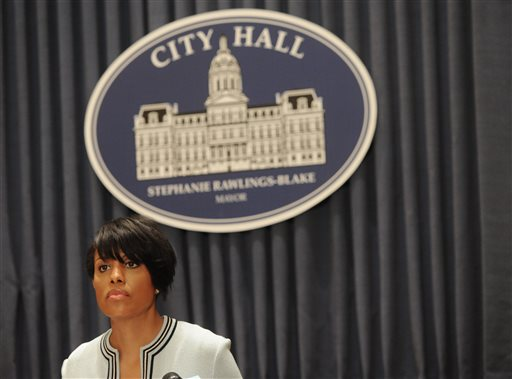 Baltimore Mayor Says She Will Not Seek Re-Election