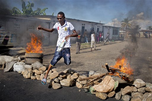Rival Forces Fight over Key Sites in Burundi's Capital