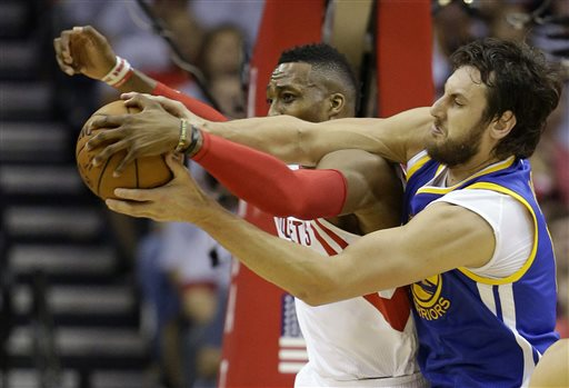 Rockets' Howard Won't be Suspended for Game 5 vs Warriors