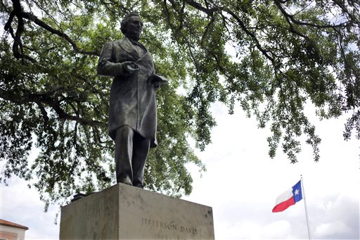 Jefferson Davis Statue at University of Texas Campus Sparks Protest
