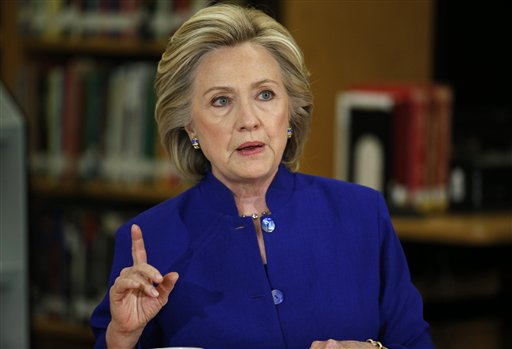 WSJ/NBC National Poll Shows Hillary Clinton Crushing All Rivals