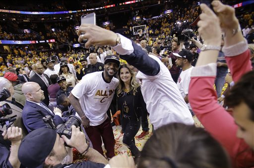Better Than Ever, LeBron Leads Cavaliers Into NBA Finals