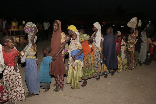Former Boko Haram Captives Still Held by Nigerian Military
