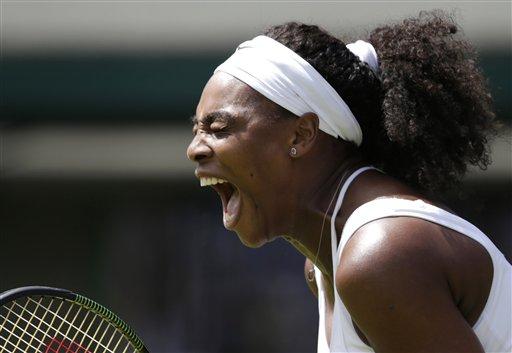 Serena Williams' Wimbledon Starts Slow; Venus Wins 6-0, 6-0