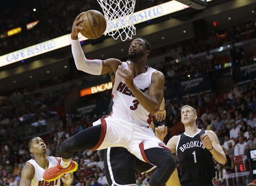 Wade Elects to Become Free Agent, May Leave Heat