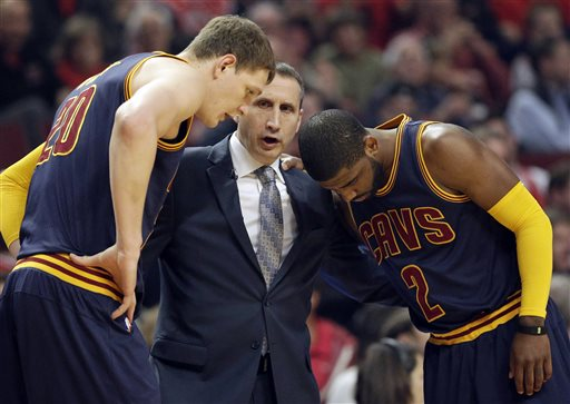 Cavs Coach Blatt Takes Shots, Battles His Way to NBA Finals