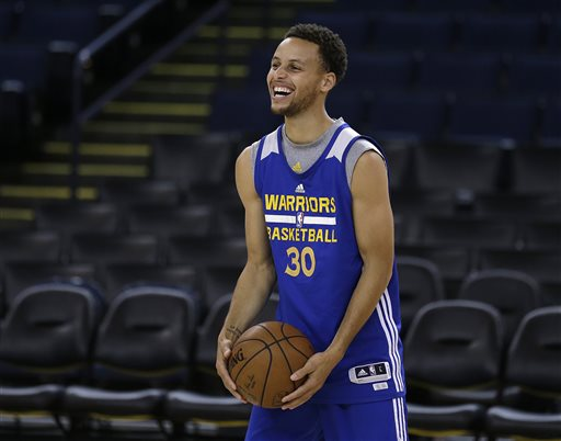 Curry Set for His NBA Finals Moment Against LeBron, Cavs