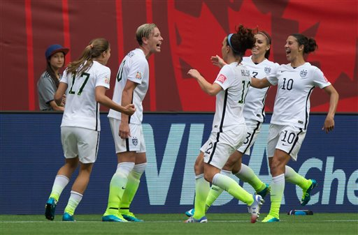 Wambach's Goal Gives US a 1-0 Win Over Nigeria