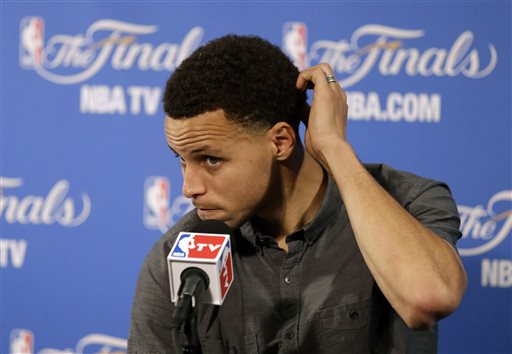 Stephen Curry Writes Game 2 Off as a Fluke, Expects to Return to MVP Form