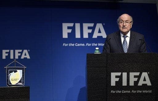 Blatter Says He Will Resign as FIFA President