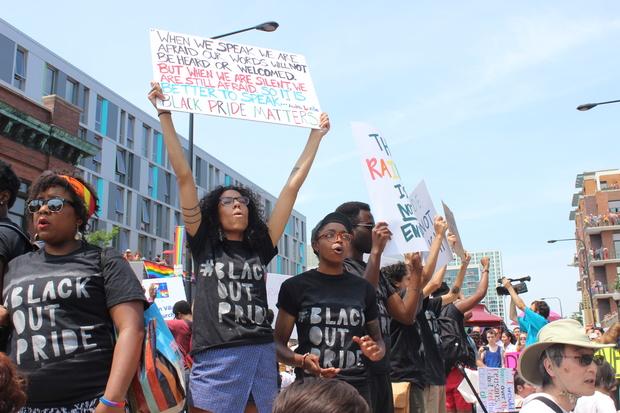 #BlackOutPride Protesters Halt Parade, Get Detained by Police