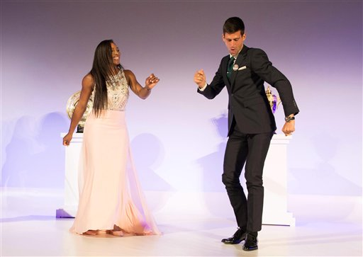 Serena Williams and Novak Djokovic Danced Up a Storm at Wimbledon Champions' Ball