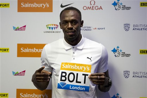 Bolt 'Will Show Up' at World Championships in Beijing