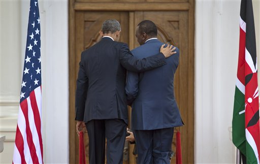 Obama Lectures Kenyan President on Gay Rights, Promises Counter Terrorism Action in East Africa