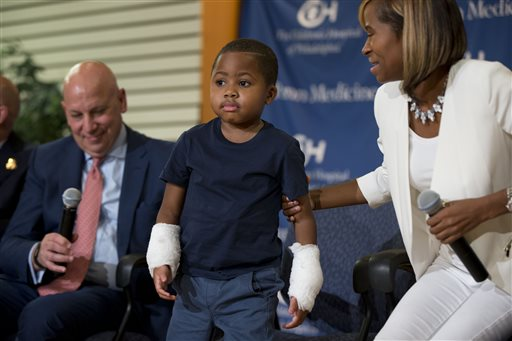 Boy Who Lost Hands to Infection Gets Double-Hand Transplant