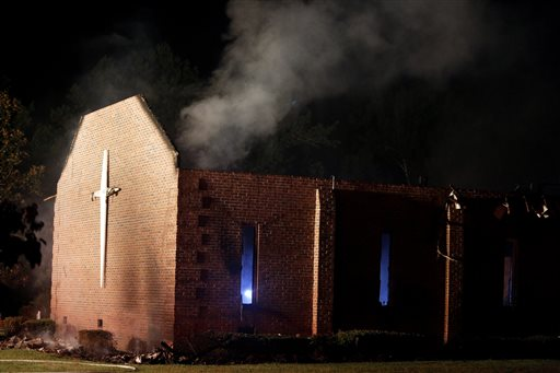 Church Fires Not Usually Arson; Weather Found as Cause in SC