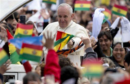 Pope Asks Pardon for Church's 'Crimes' Against Indigenous