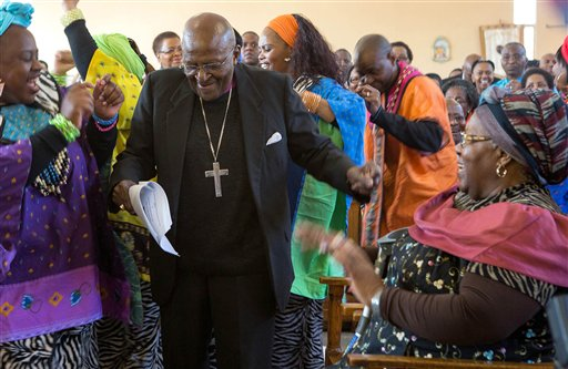 Archbishop Desmond Tutu Back in South Africa Hospital