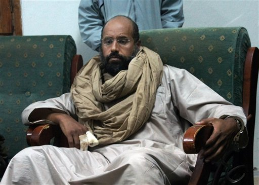 Libya Court Sentences Gadhafi Son to Death for 2011 Killings