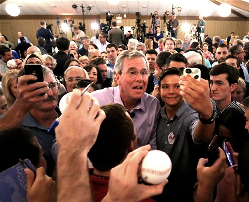 Bush Calls Courtship of Minority Voters Integral to Campaign