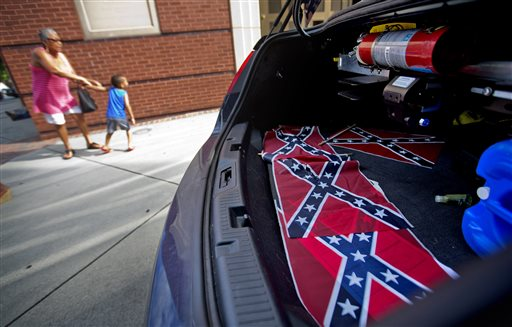 Confederate Flags Placed at Martin Luther King's Church