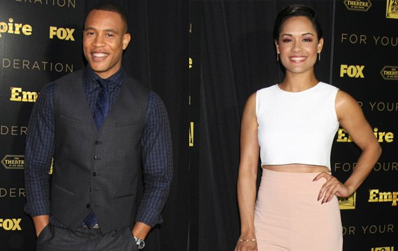 Report: 'Empire' Stars Trai Byers, Grace Gealey Are Engaged