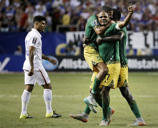 Jamaica Stuns US 2-1 in Gold Cup Semifinals