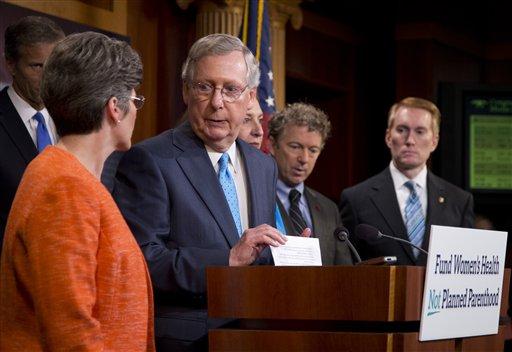 GOP Presses Planned Parenthood Aid Ban, Faces Long Odds