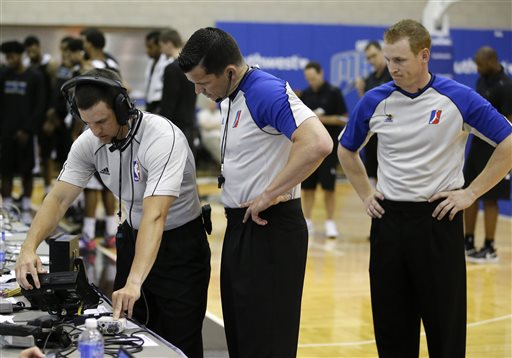 Not-Yet NBA Refs Also Under Microscope During Summer League