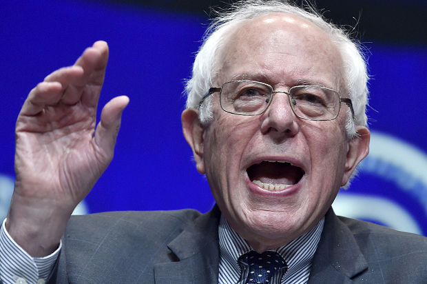 Sanders Vows Fight Against Institutional Racism in LA Campaign Event
