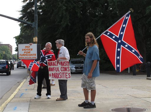 KKK, Black Justice Group Clash in S.C. Capitol