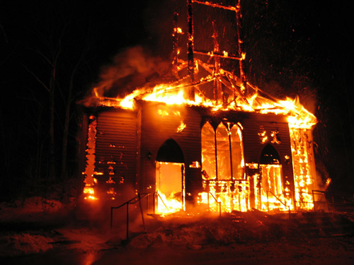Black Christians and Muslims Unite Around Burned Churches