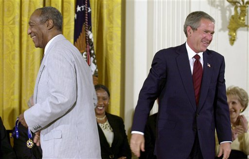 Obama: No Mechanism to Revoke Cosby's Medal of Freedom