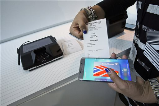 Android Pay vs. Apple Pay vs. Samsung Pay